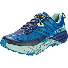 Hoka One One Speedgoat 3 Running Shoes Women Seaport/Medieval Blue